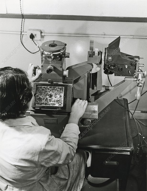 Metallurgical microscopy, 1960