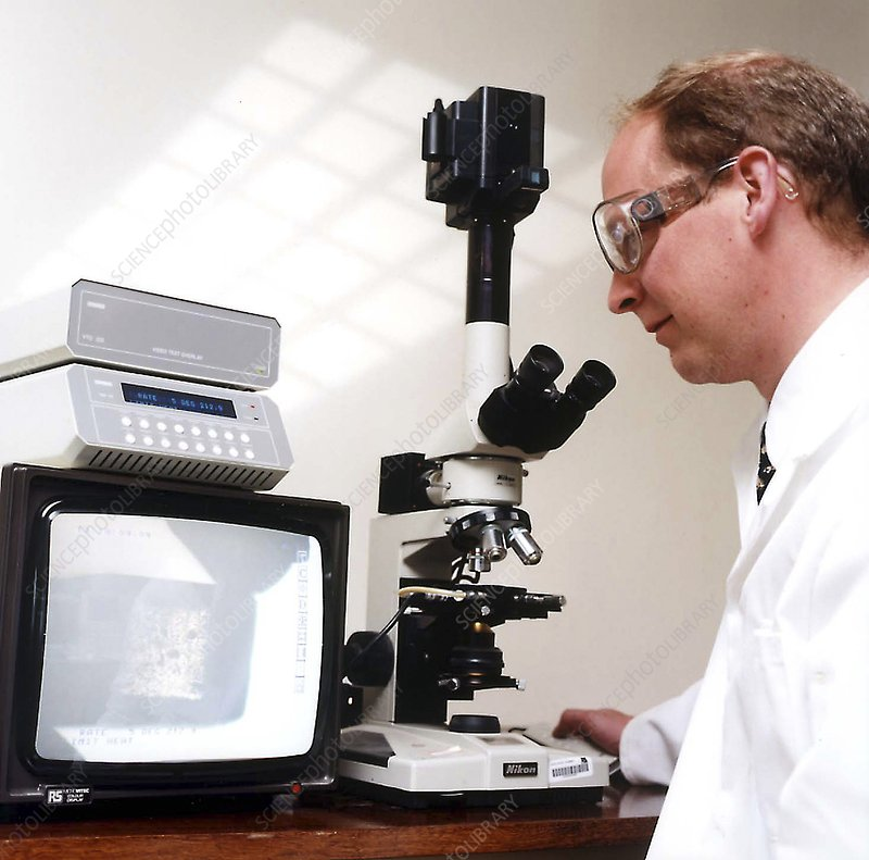 Microscopy research, 1980s