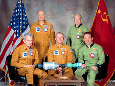 Apollo Soyuz Test Project crew, 1975