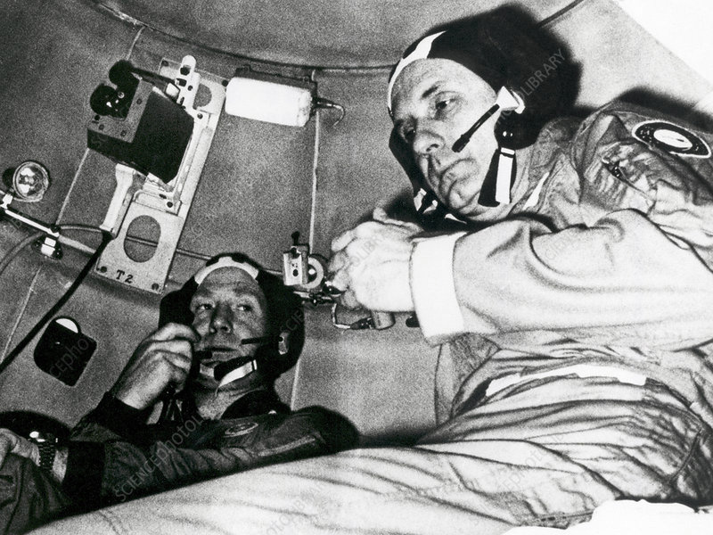 Apollo Soyuz Test Project crew training