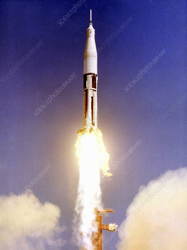 First Apollo launch, 1966