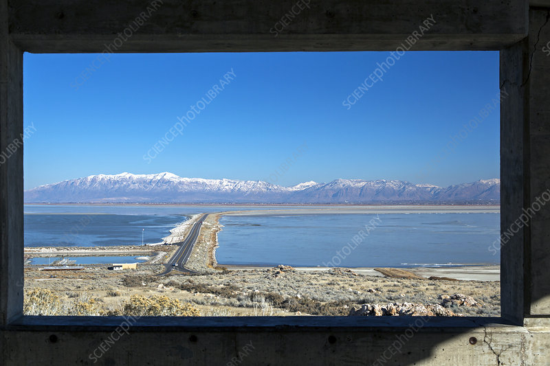 View from Antelope Island, USA