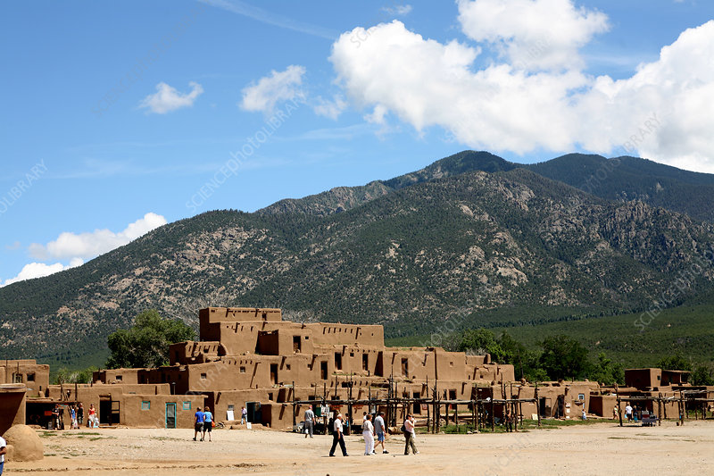 Taos Pueblo traditional architecture