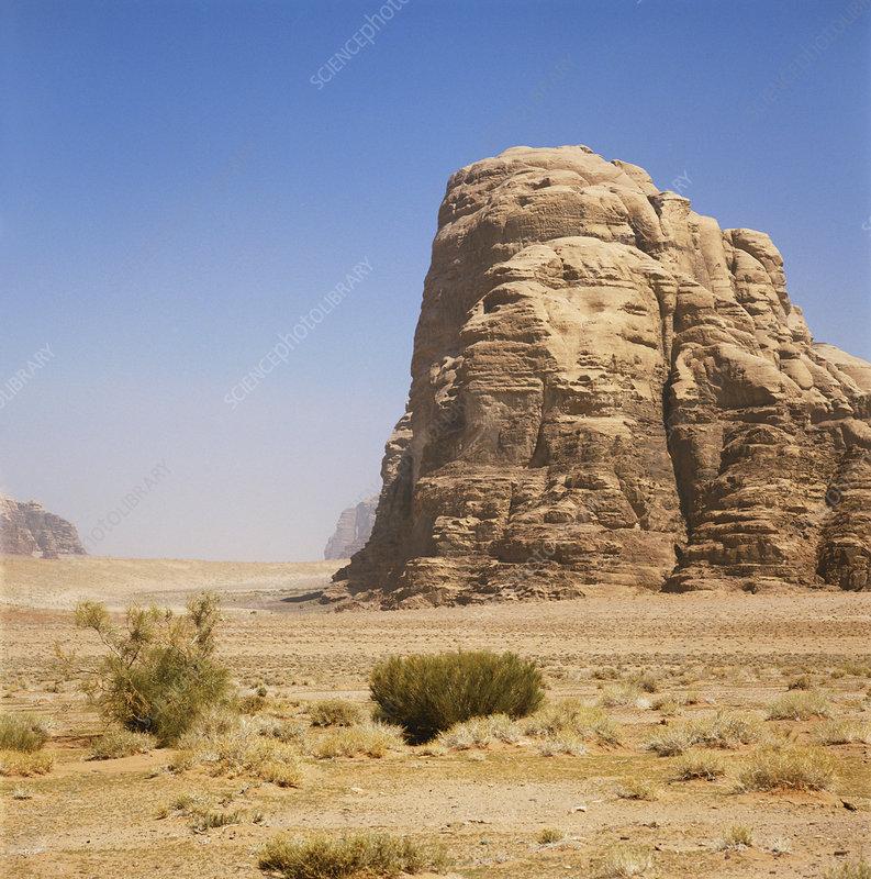 Desert in Jordan