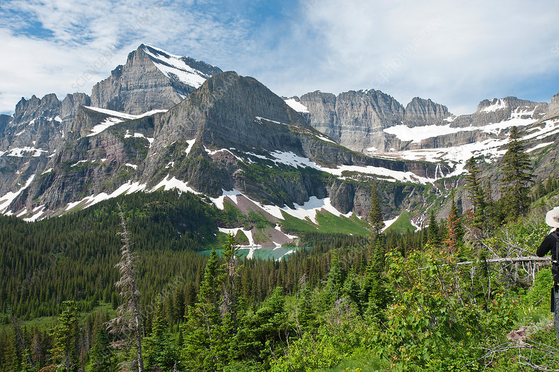 Continental divide, Glacier National Park
