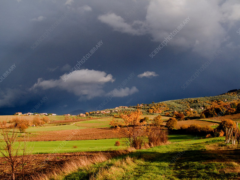 Stormy Countryside