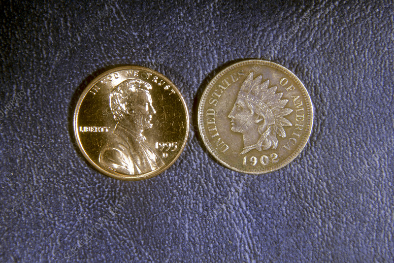 US Penny Comparison