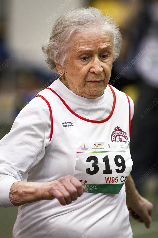 Olga Kotelko, Canadian masters athlete