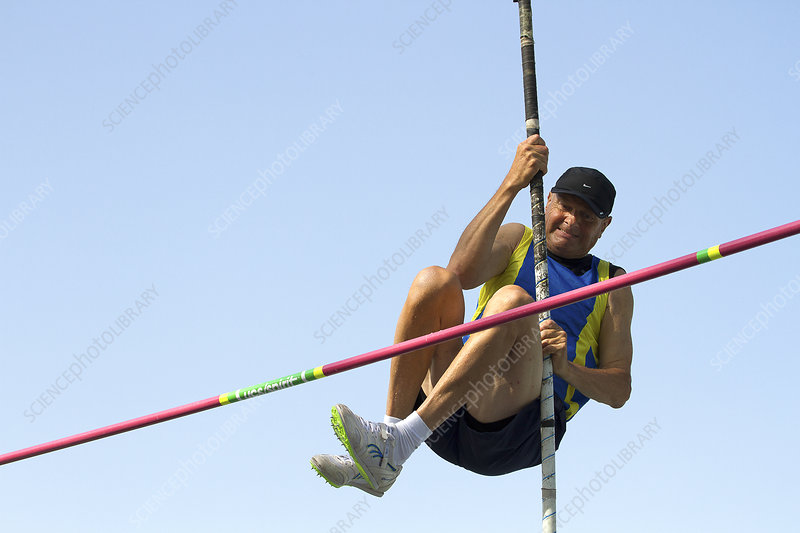 Senior athlete might not clear pole vault