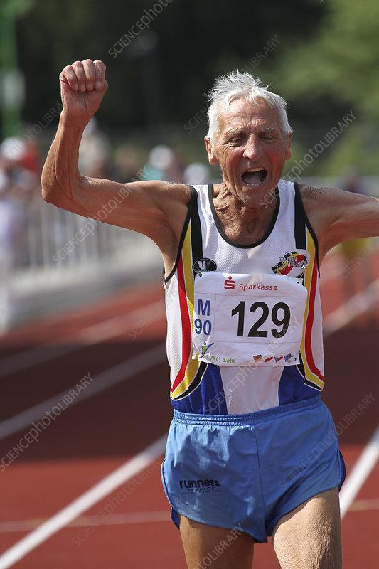 Older athlete triumphs