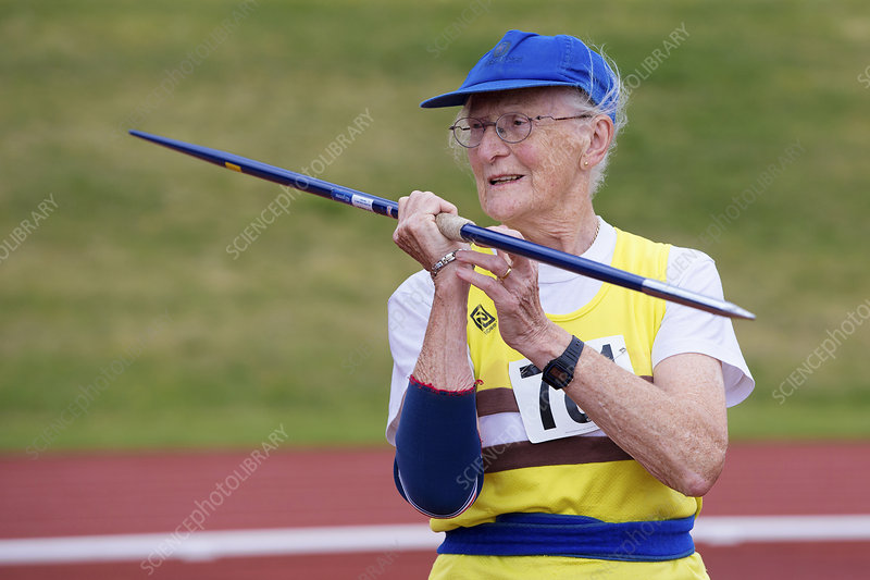 Rosemary Chrimes, British masters athlete