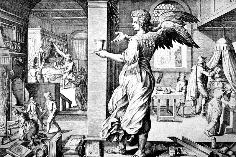 Physician As Angel, 17th Century
