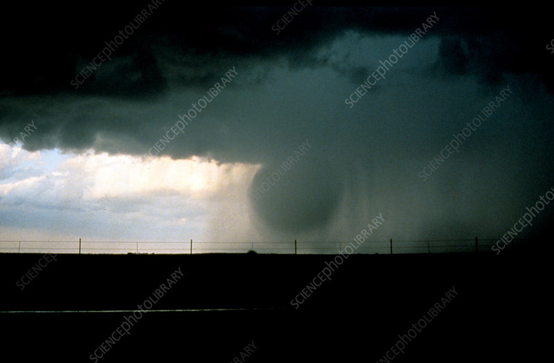 Wet Microburst Sequence, 1 of 4
