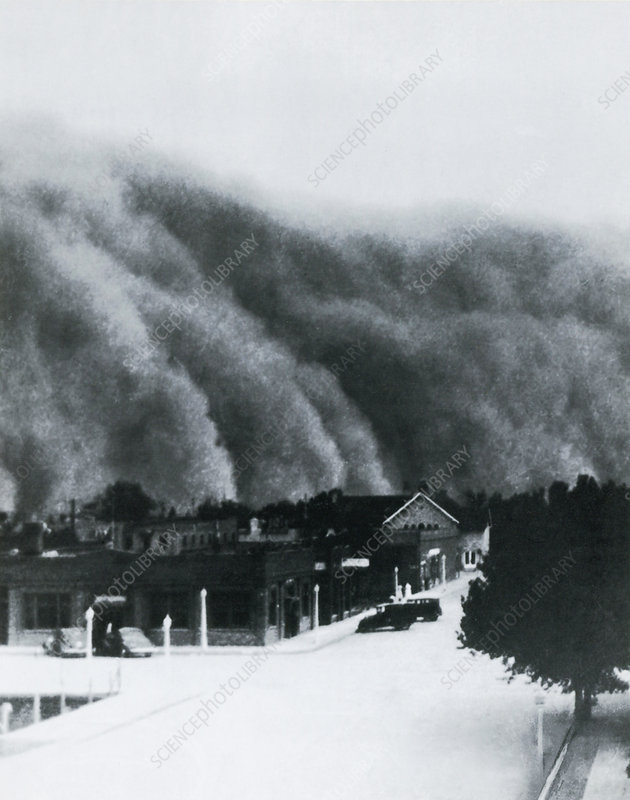 Dust Storm of 1937, Clayton, NM