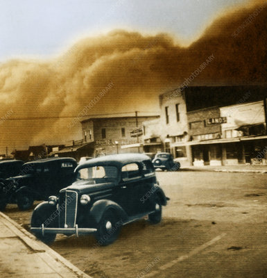 Dust Bowl of the 1930's, Elkhart, Kansas