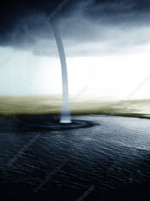 Giant Waterspout