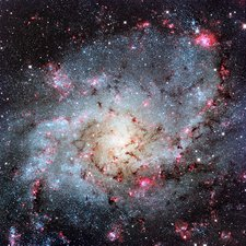 Triangulum Galaxy, optical image