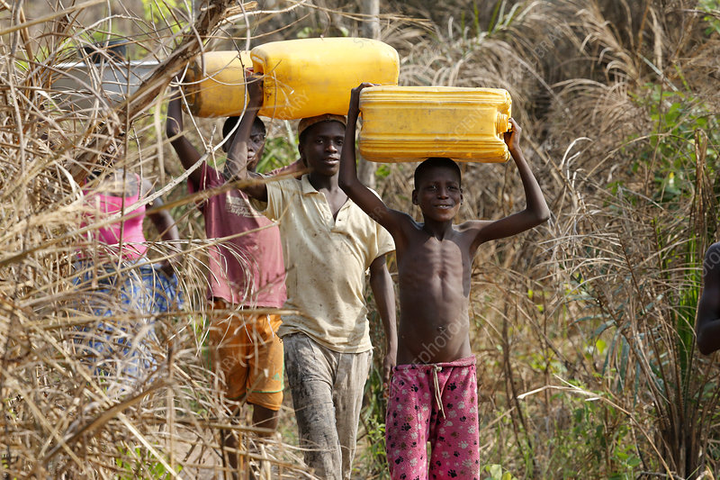 Carrying Water, Africa