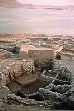 Flooding of Syrian neolithic site, 1999