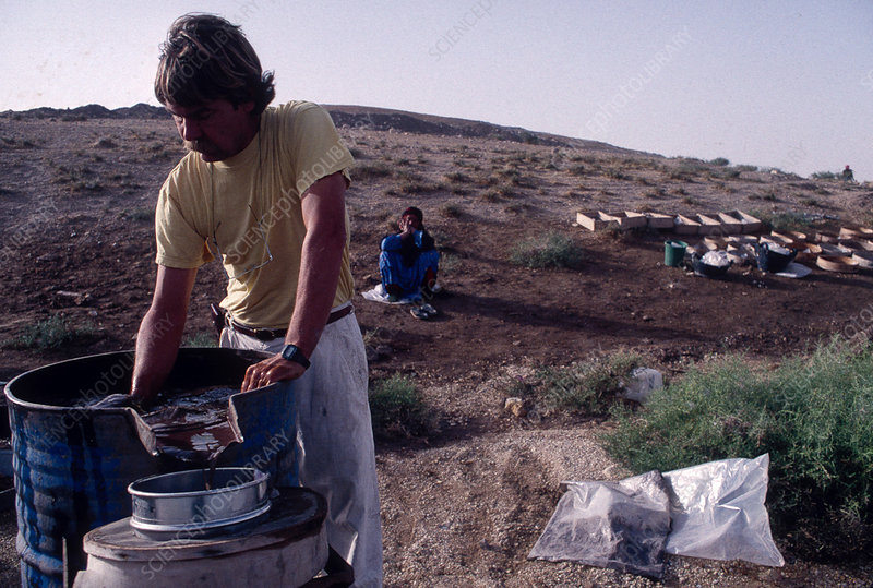 Neolithic sediment research, Syria
