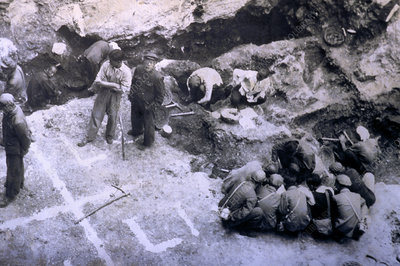 Peking Man excavations, China, 1920s