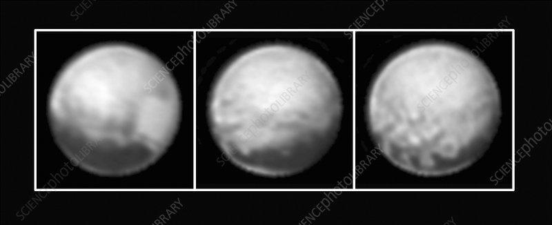 Pluto, New Horizons images