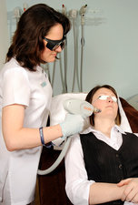 Skin laser therapy