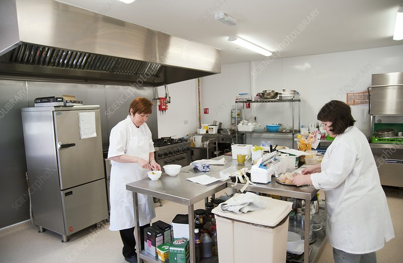 Care home kitchen