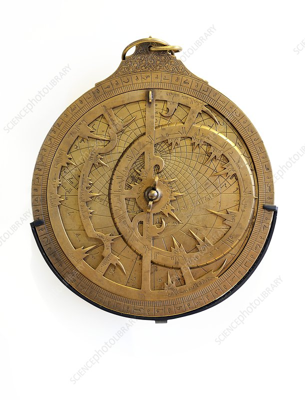 14th Century brass astrolabe