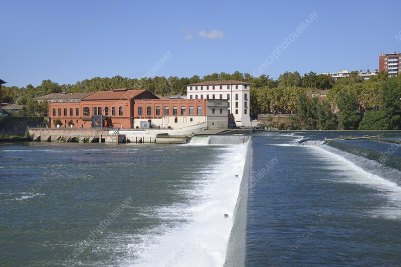 Hydroelectric barrage, France