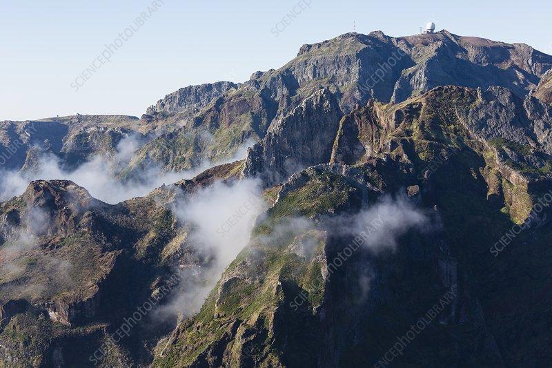 Madeira central highland