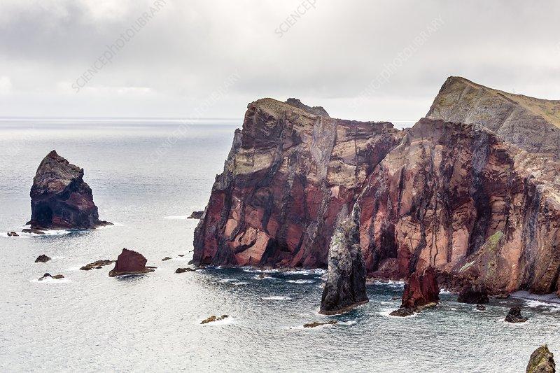 Cliffs of Ponta de Sao Lourenco