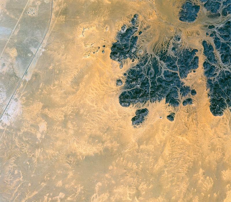 Island of Meroe, satellite image