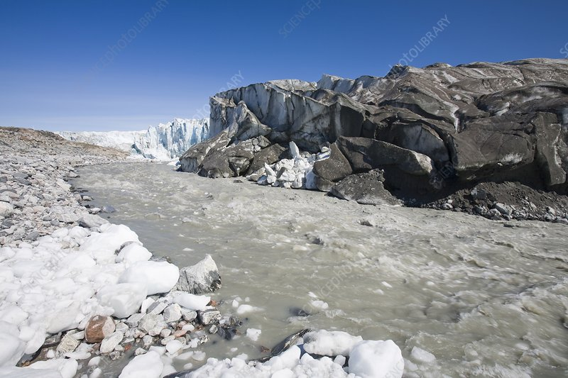 The Russell Glacier, Greenland ice sheet