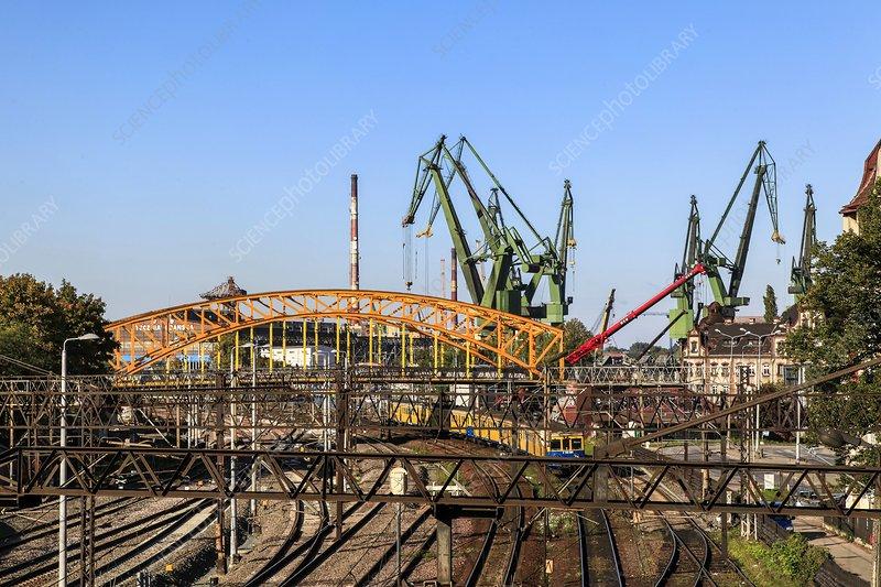 shipyard Gdansk, Poland