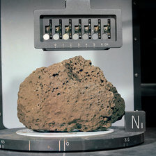 Moon rock sample