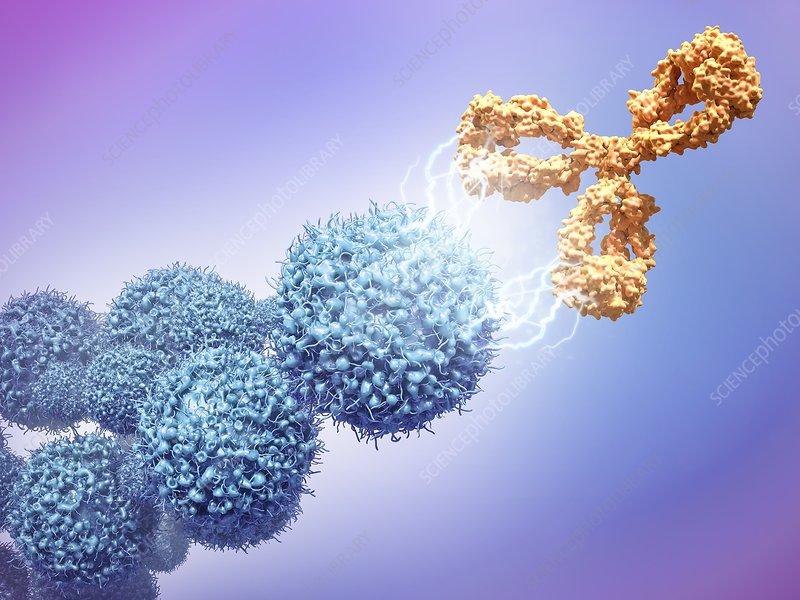 Cancer drug attacking cancer cells