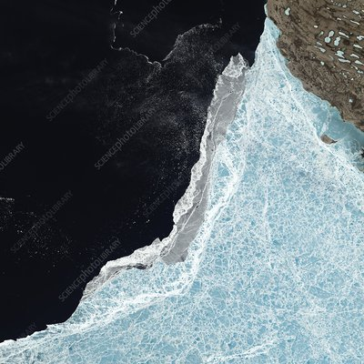 Amundsen Gulf sea ice coverage, June 2015