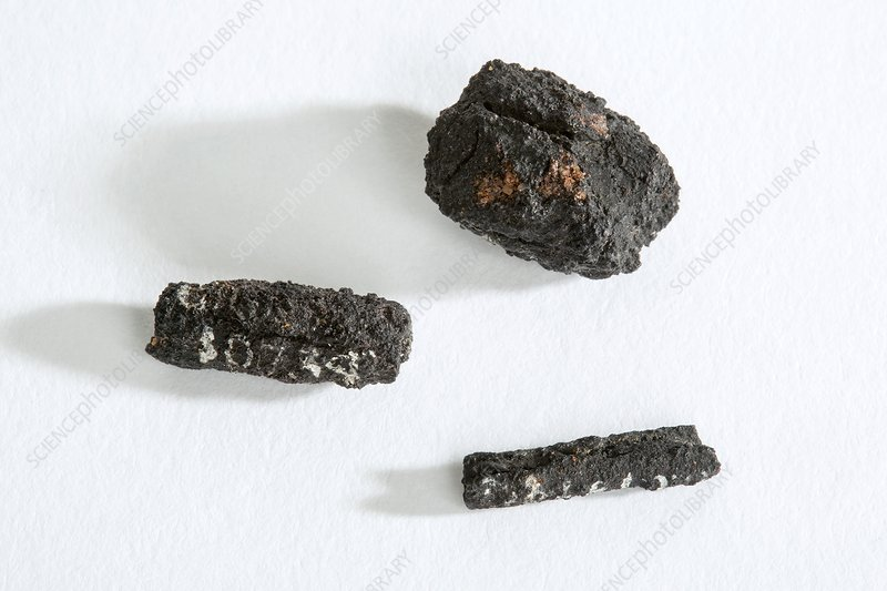 Ancient Egyptian meteoric iron beads