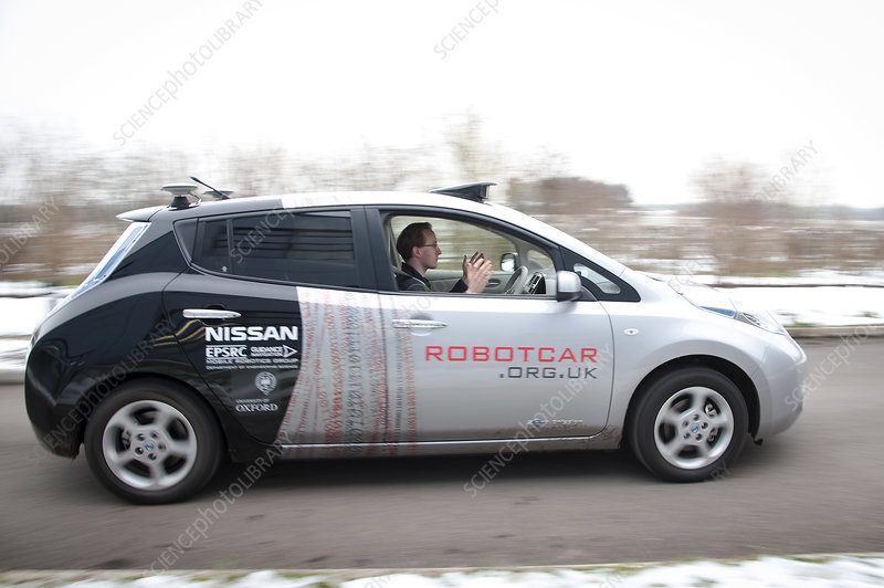 RobotCar, Oxfordshire, UK