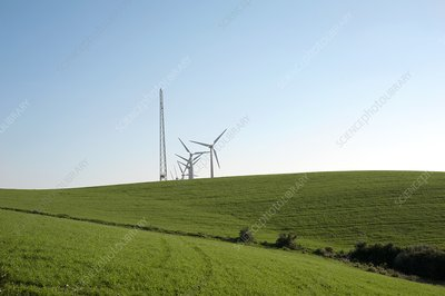 Wind turbines and pylon