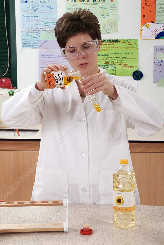 Testing for saturated fat experiment