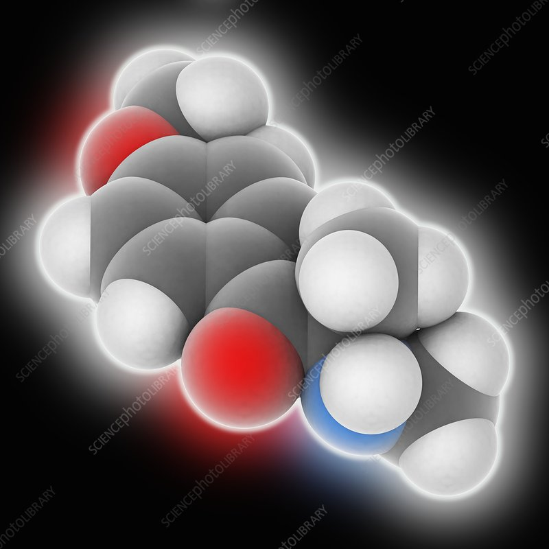 Methedrone drug molecule