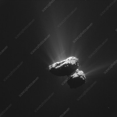 Comet Churyumov-Gerasimenko, July 2015