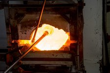 Glassblower's furnace