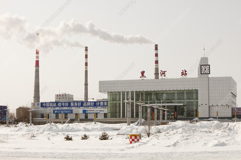 Chinese coal fired power station
