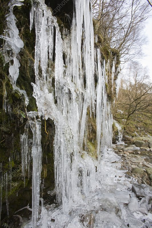 Icicles at Tilberthwaite
