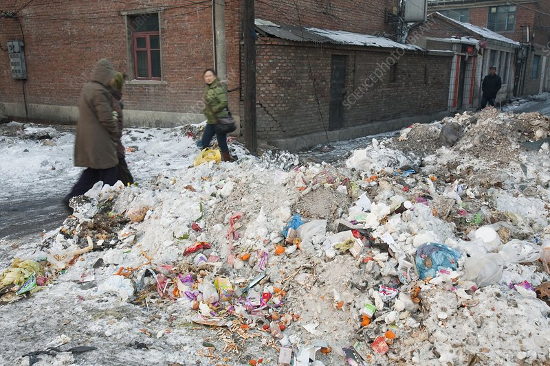 Rubbish, China