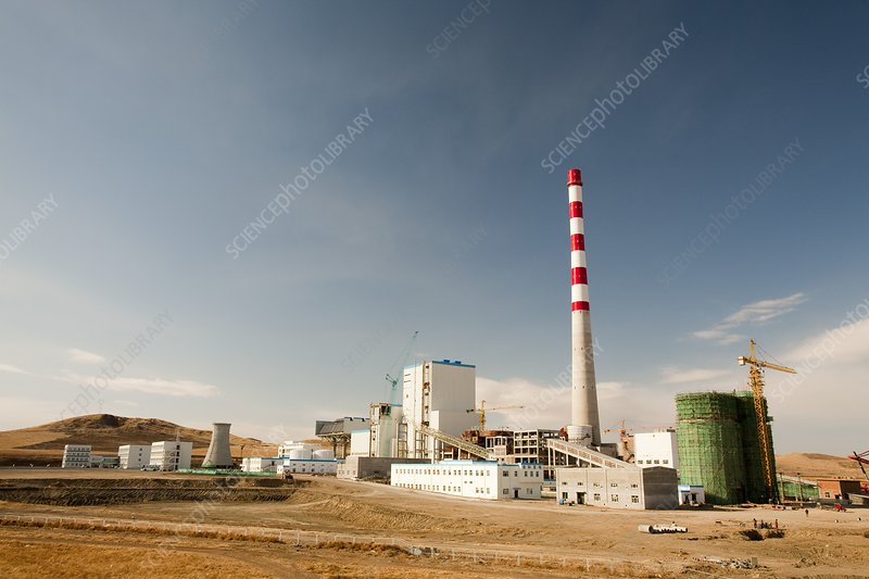 New coal fired power plant, China