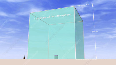 Per capita share of atmosphere and CO2